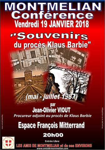 conference Klaus Barbie 19 01 2018